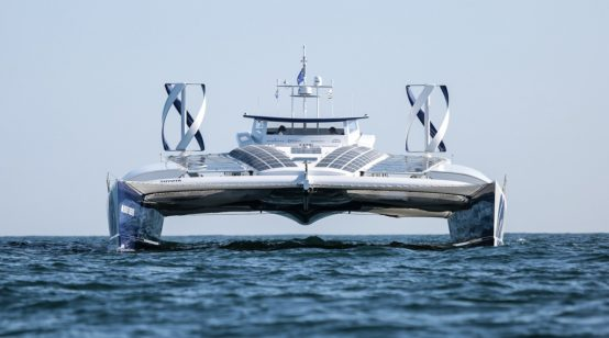 World's first hydrogen-powered boat leaves Europe