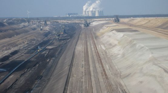 Activists occupy eastern Germany coal pits