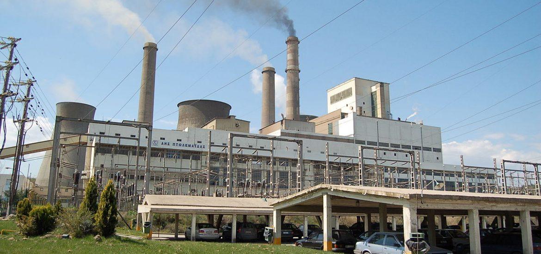 Lignite chokes Greek city