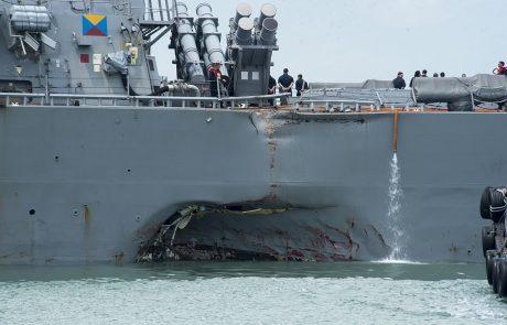 Greek tanker collides off Singapore