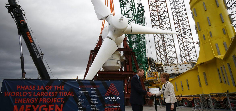 Tidal power project hails progress