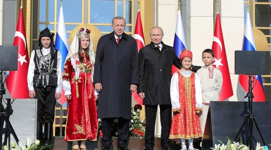 Putin and Erdogan mark joint nuclear project