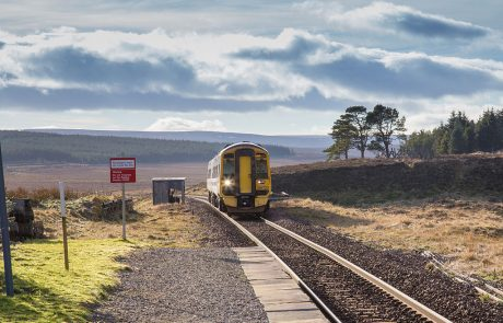 Scotland unveils hydrogen trains project