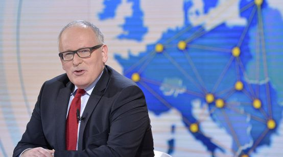 EU to lead world in clean hydrogen: Timmermans