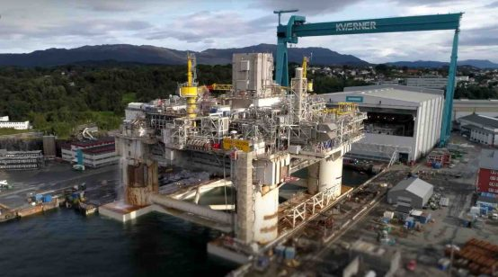 Equinor begins exports from two North Sea fields