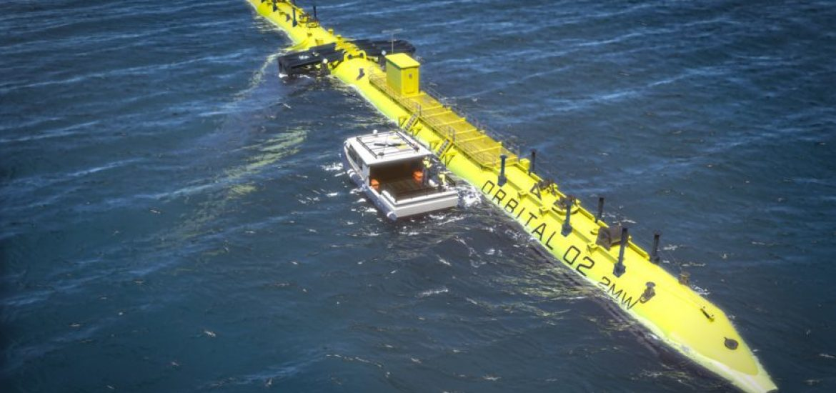 World's largest tidal turbine to be built in Scotland