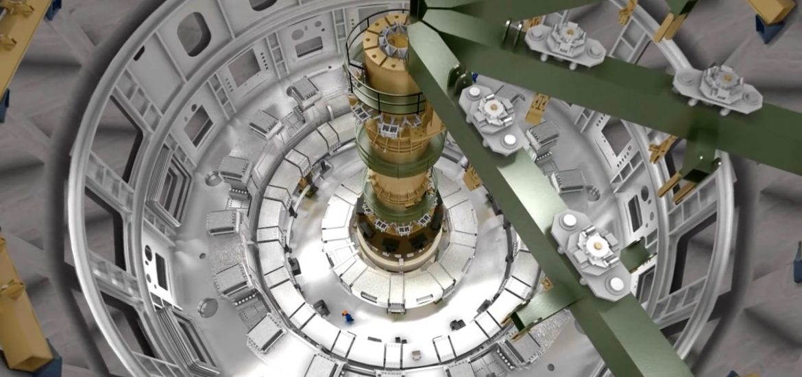 China unveils nuclear fusion project