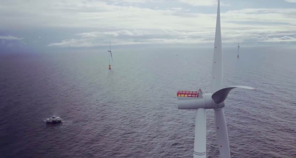 Equinor eyes more North Sea floating wind farms