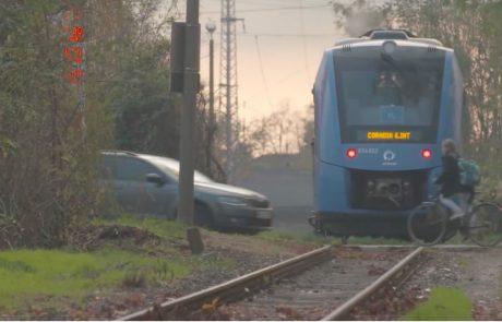 Germany unveils world's first hydrogen train