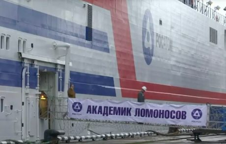 Russia launches 'floating Chernobyl' from Murmansk