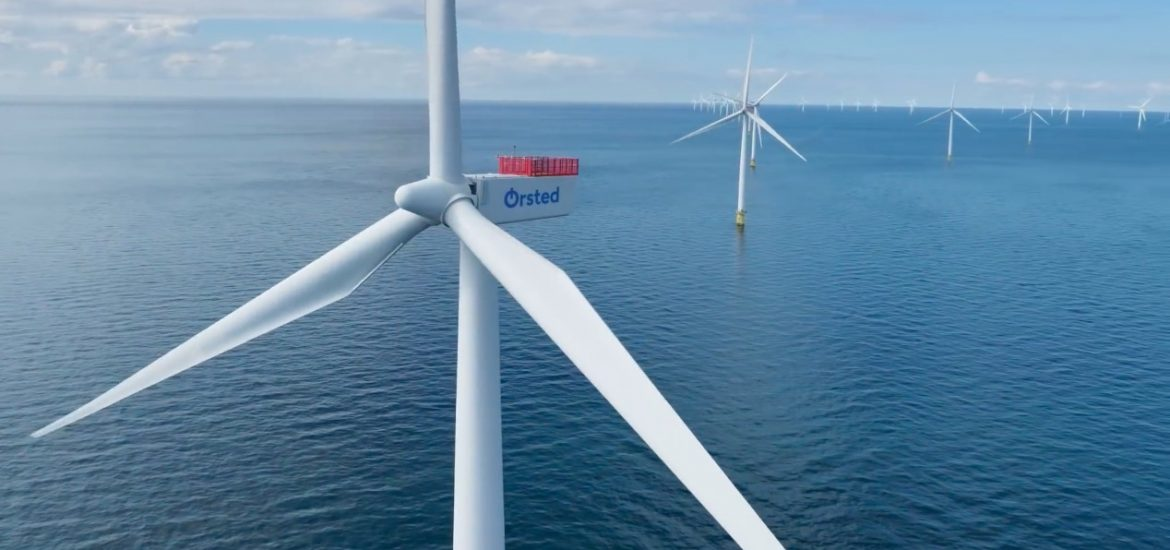 Orsted aims to make hydrogen with offshore wind