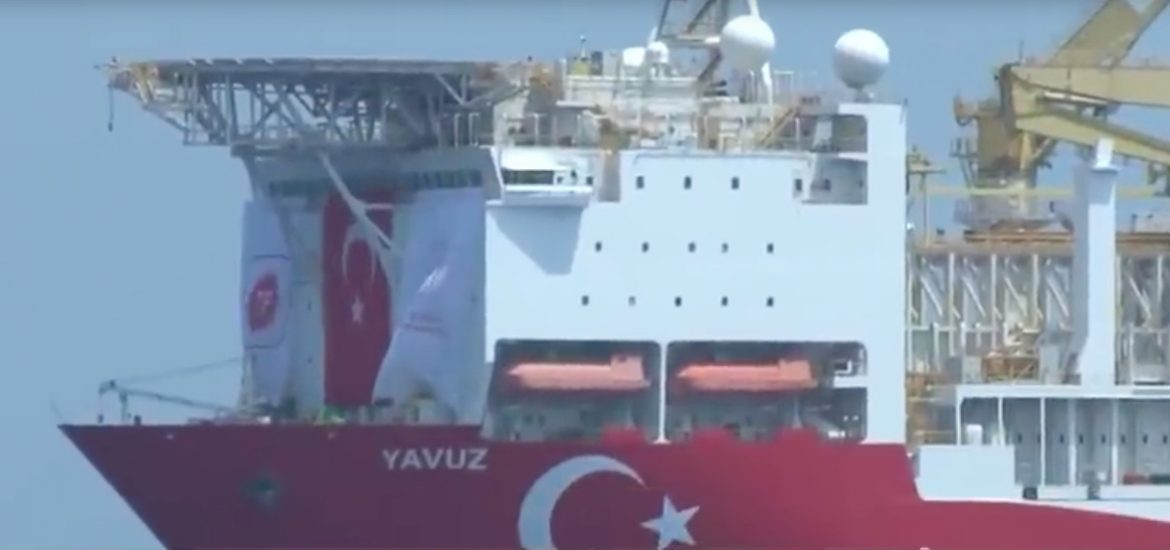 Turkey defies EU and US with Cyprus gas drilling