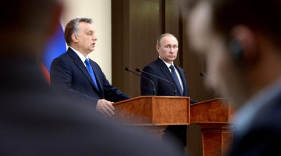 Orban and Putin discuss TurkStream gas supplies