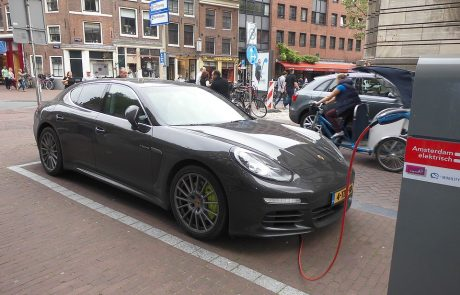Porsche ditches diesel for electric