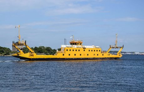 Sweden prepares to launch largest electric car ferry