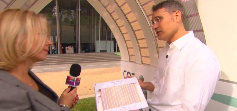 Pilot solar project uses printable panels