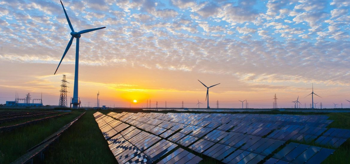 The emerging renewable energy duality in the windy North and sunny South