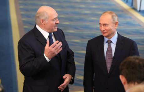 Putin and Lukashenko discuss energy prices