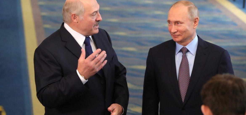 Putin and Lukashenko discuss energy prices